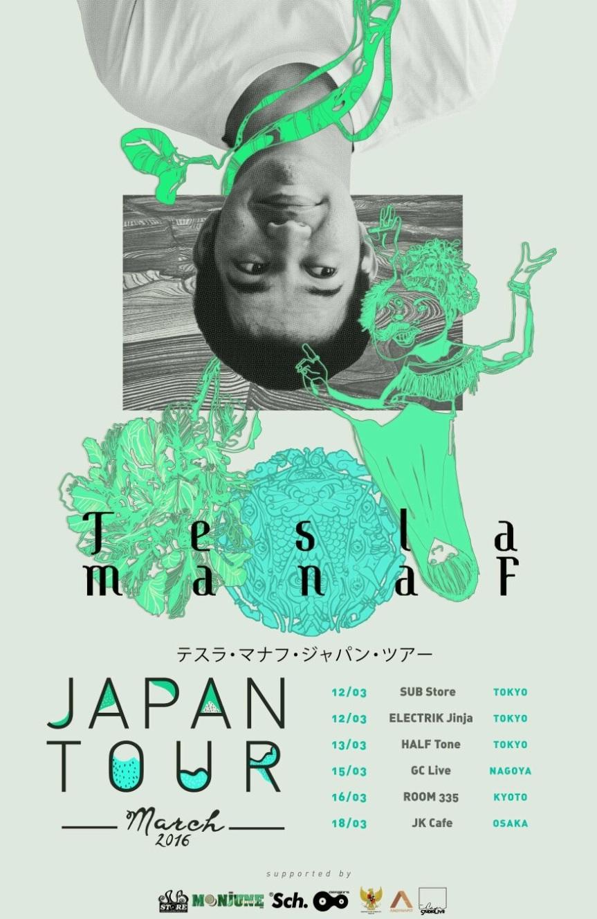 Laporan Perjalanan Tesla Manaf JapanTour